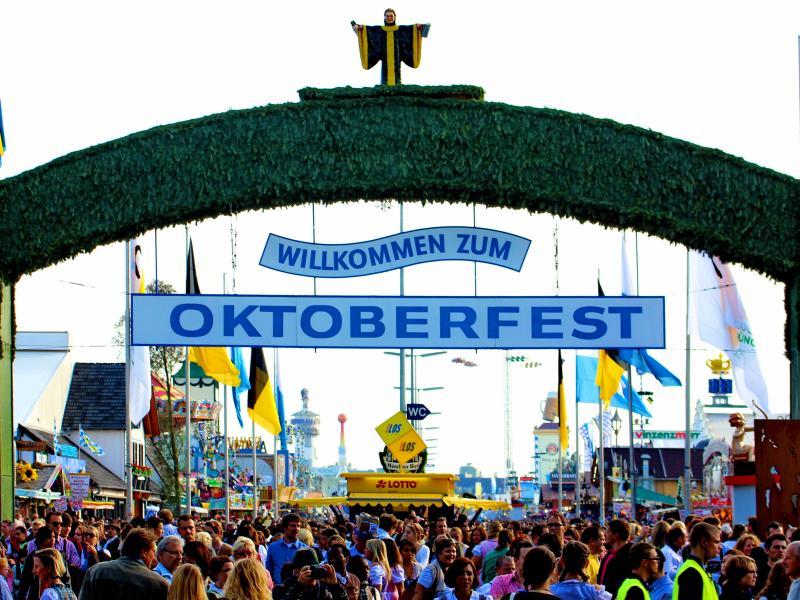 Oktoberfest-Bayern-Mnichov