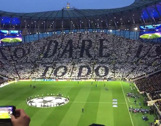 Nový štadión Tottenhamu South Stand